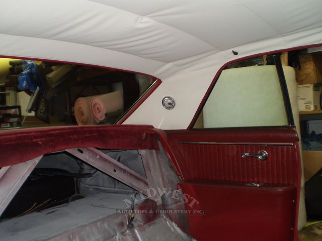 Midwest Auto Tops Amp Upholstery 1964 Olds Cutlass