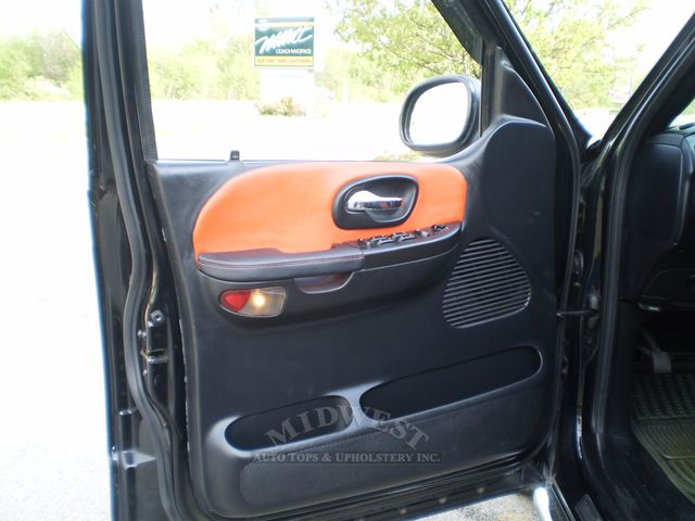 Midwest Auto Tops Upholstery 2002 Ford F 150 Harley Davidson