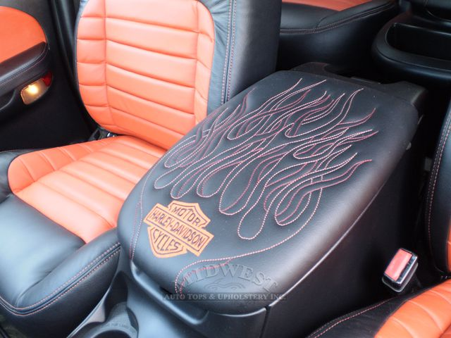 Custom Leather Seat Covers >> Midwest Auto Tops & Upholstery - 2002 Ford F-150 Harley Davidson