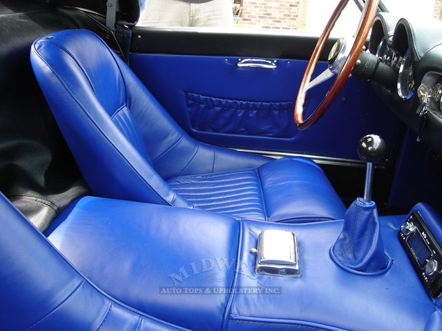 midwest auto tops upholstery ferrari 250 gt california spyder replica. Black Bedroom Furniture Sets. Home Design Ideas