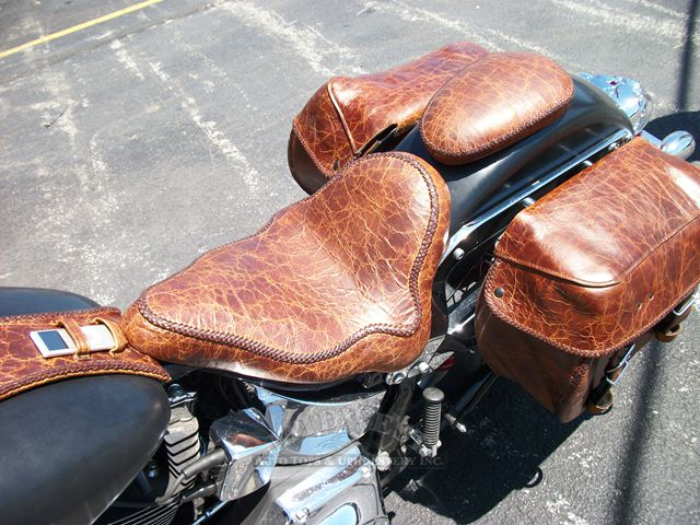 Midwest Auto Tops Amp Upholstery Custom Leather Seat